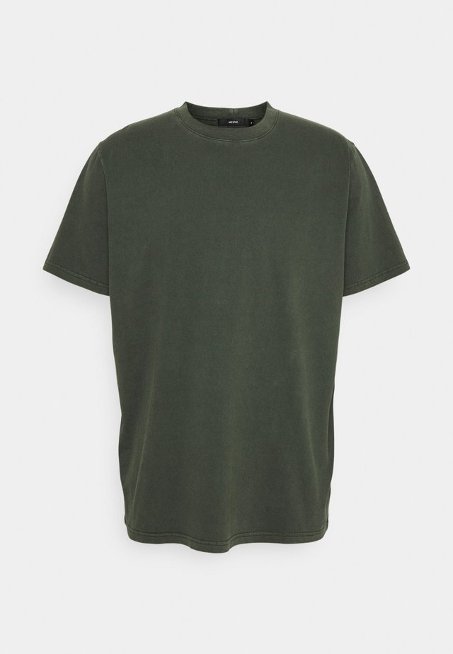 BAND TEE - T-paita - dark military