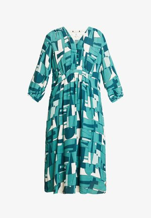 DRAPE - Košilové šaty - green
