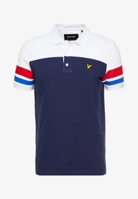 Lyle & Scott - CONTRAST BAND - Poloshirts - navy - 3