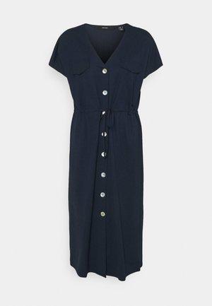 VMINAMARIA WIDE CALF DRESS - Vestido ligero - navy blazer