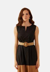 Oltre - Vestito estivo - nero - 2