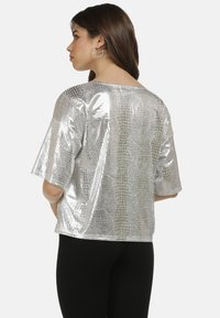 myMo at night - Blouse - silber - 2