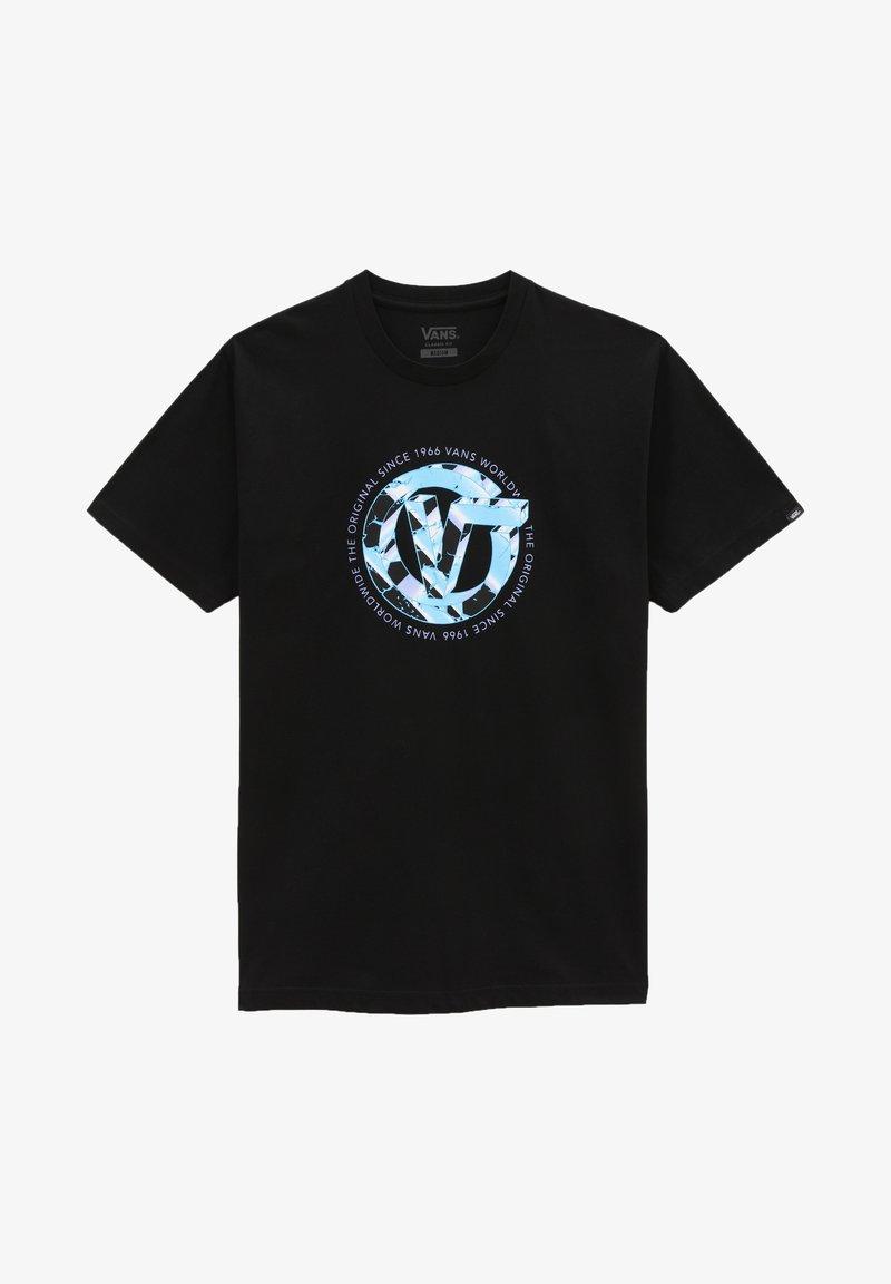 Vans - MN V TIME MACHINE SS - Print T-shirt - black