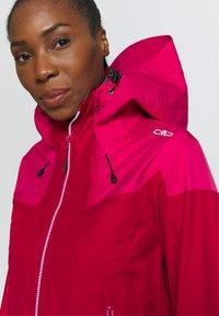 CMP - WOMAN JACKET HOOD - Skijakke - magenta - 6