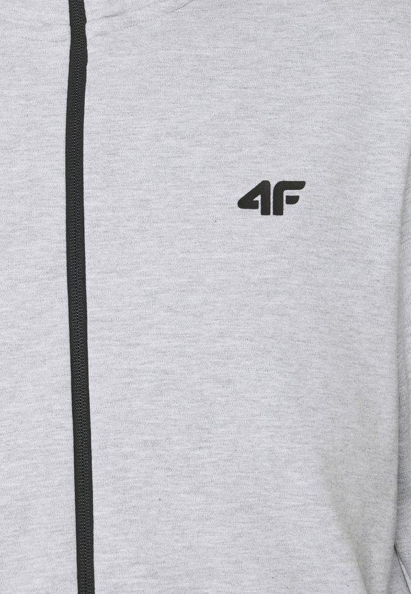 4F HERREN STEN - Bluza rozpinana - grey/szary Odzież Męska UAWC