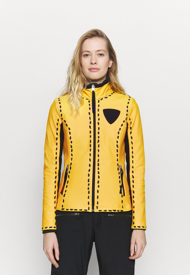 DIXY SOFT - Softshelljacke - yellow