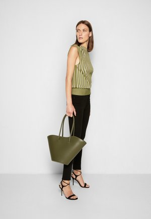 TALL TULIP TOTE - Shopping bag - forest