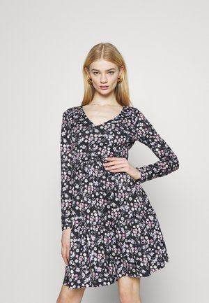 VINATALIE DRESS - Jerseykjole - black