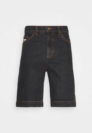 RINSE - Denim shorts - black