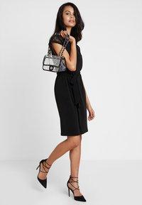 Vero Moda - VMALBERTA DRESS - Jersey dress - black - 1