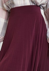 Anna Field - Plisse A-line mini skirt - A-Linien-Rock - winetasting - 4