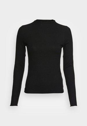 VMVIO HIGH NECK - Long sleeved top - black
