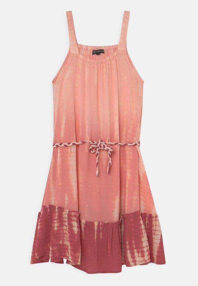 TEEN - Korte jurk - neon red