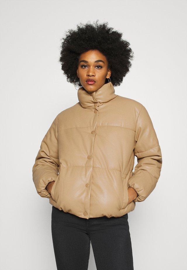 VMEMILY SHORT JACKET - Winter jacket - tan