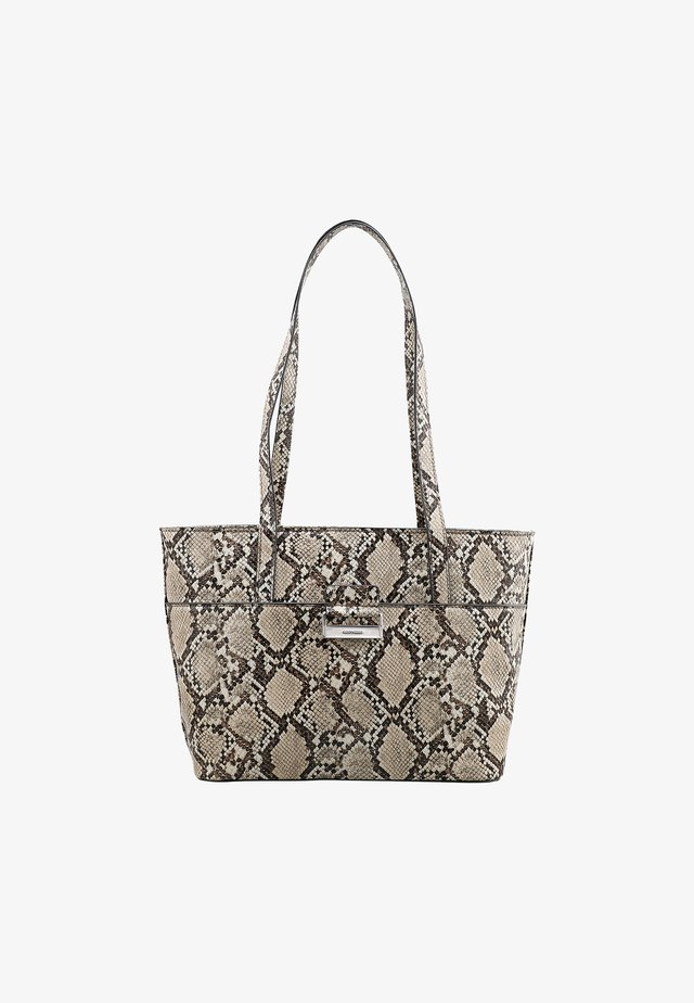 TALK DIFFERENT SNAKE - Shopping bag - beige