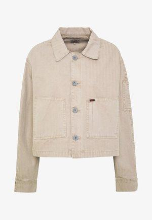 SERVICE JACKET - Summer jacket - beige