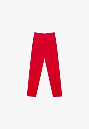 Chino kalhoty - dark red