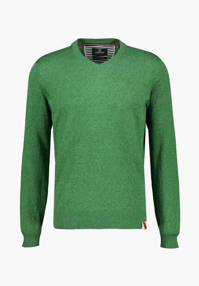 Jumper - leaf green