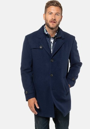 Classic coat - ultramarijn