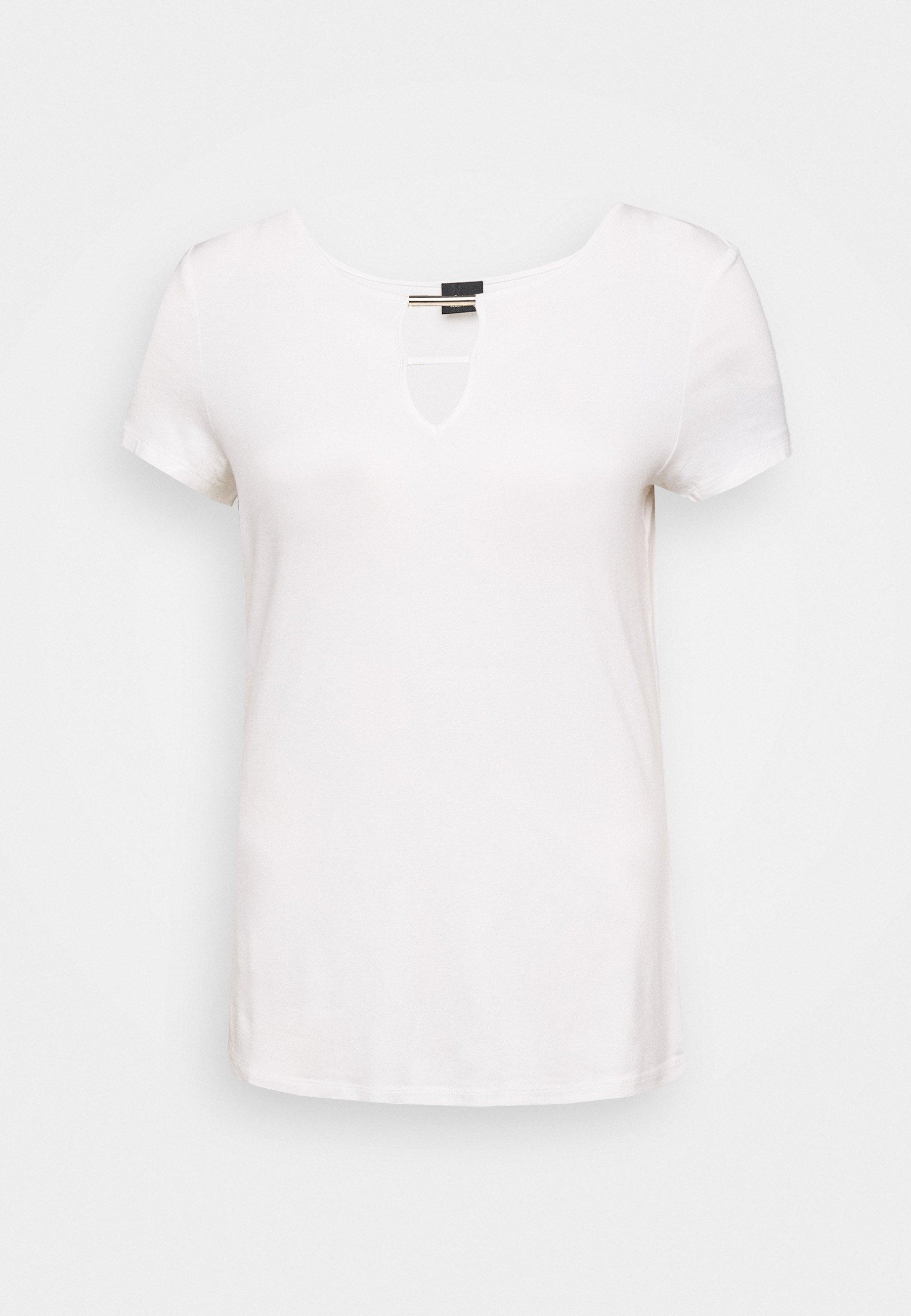 s.Oliver BLACK LABEL T-shirts med print - white