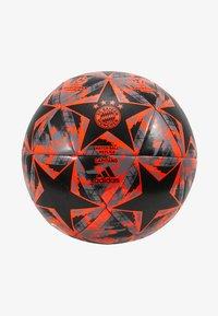 adidas Performance - FINALE - Fodbolde - black/solar red/grey heather - 2