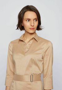 BOSS - DALIRI1 - Shirt dress - beige - 3