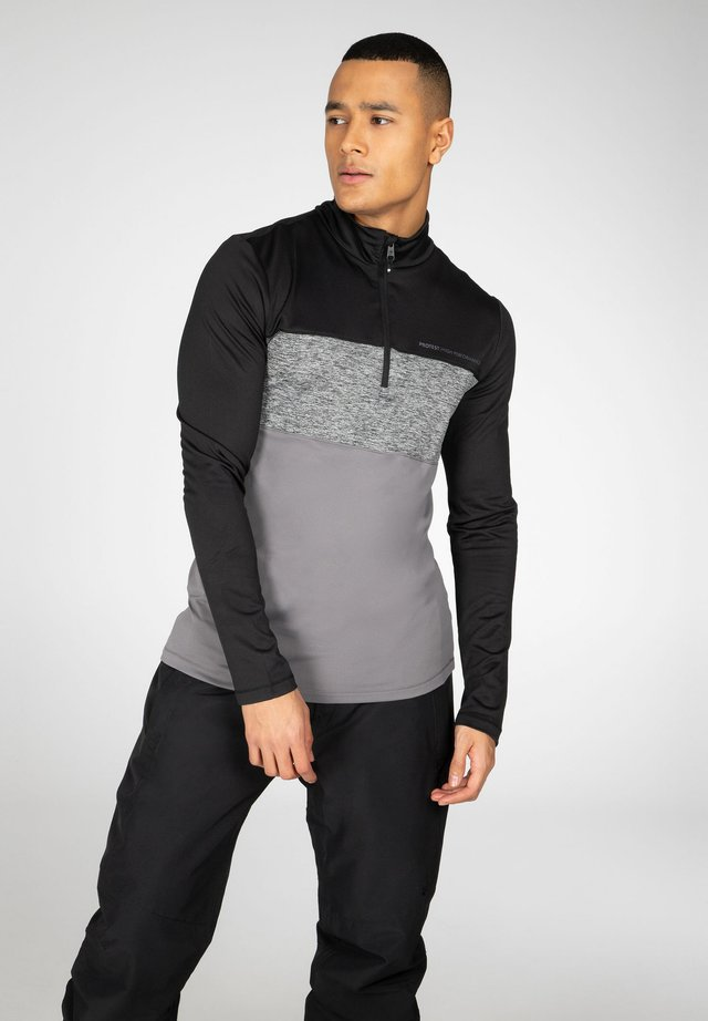 T-shirt sportiva - true black