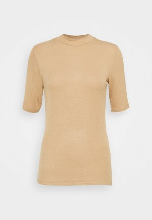 KROWN - Basic T-shirt - camel