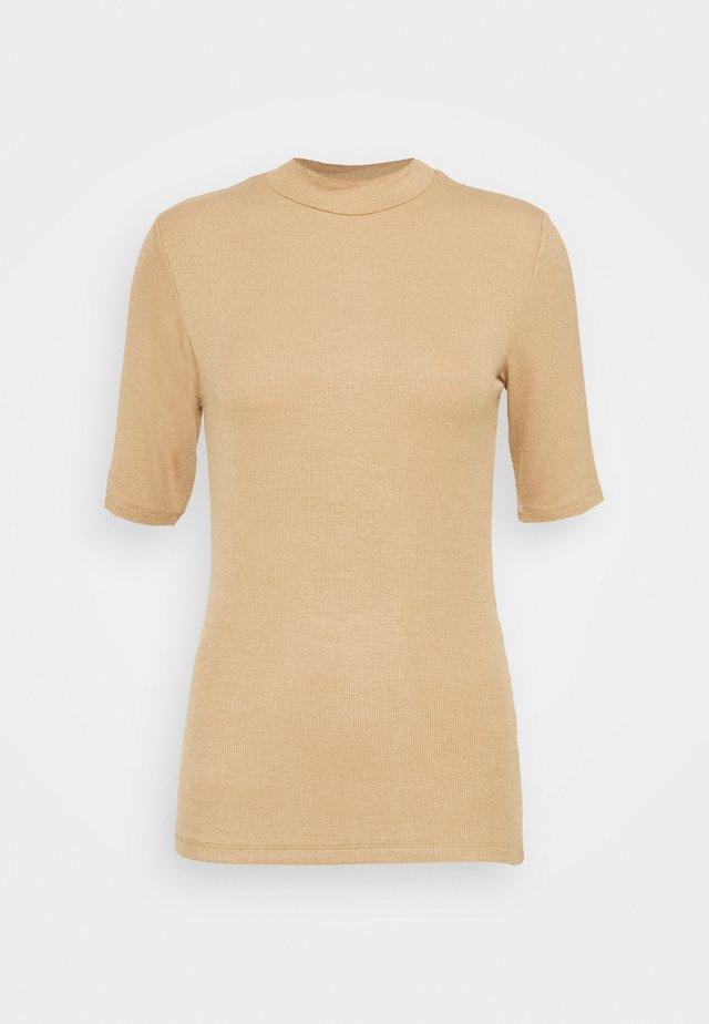 KROWN - T-shirt basic - camel