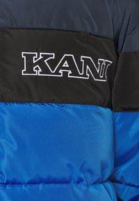 Karl Kani - BLOCK PUFFER JACKET - Veste d'hiver - blue - 3