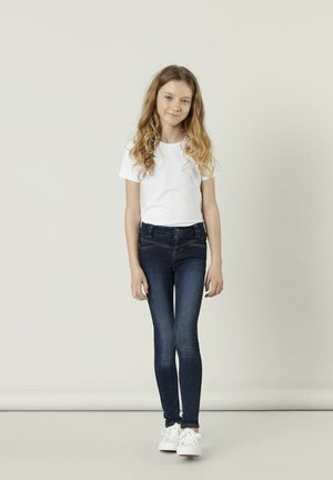 SKINNY FIT - Jeans Skinny - dark blue denim