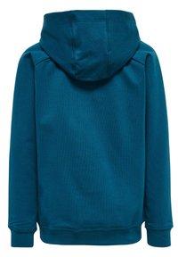 Hummel - Hoodie - blue coral green ash - 2