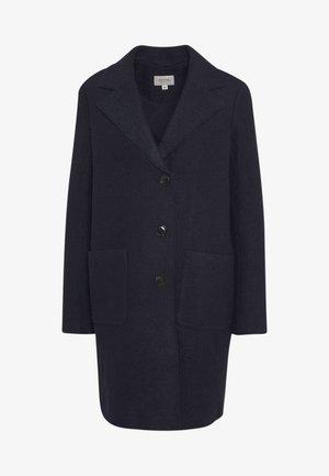 Klasyczny płaszcz - marine