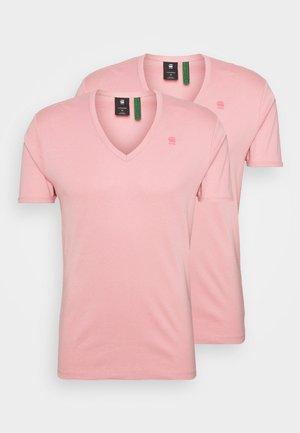 BASE 2 PACK - Basic T-shirt - dusty rose