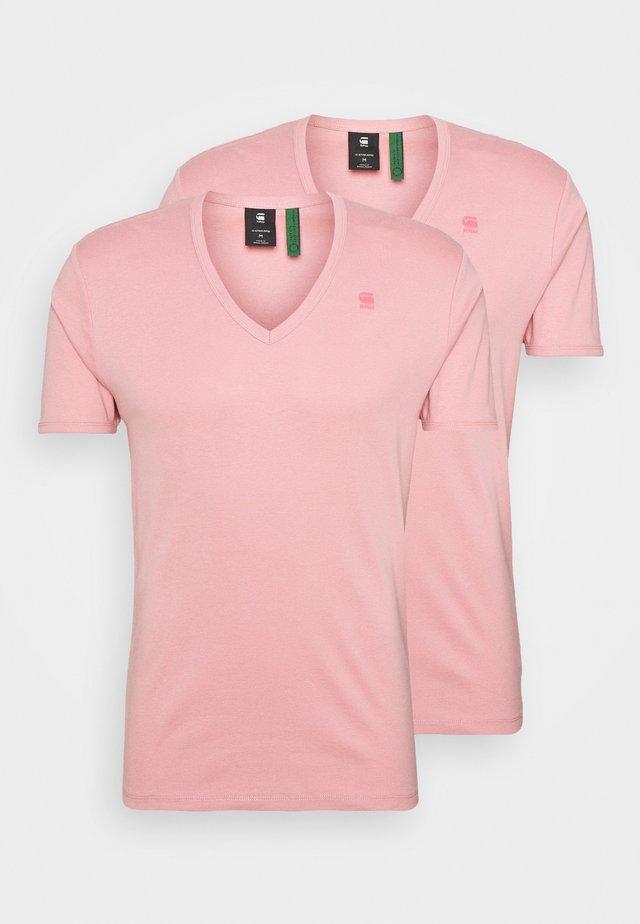 BASE 2 PACK - T-shirt basique - dusty rose