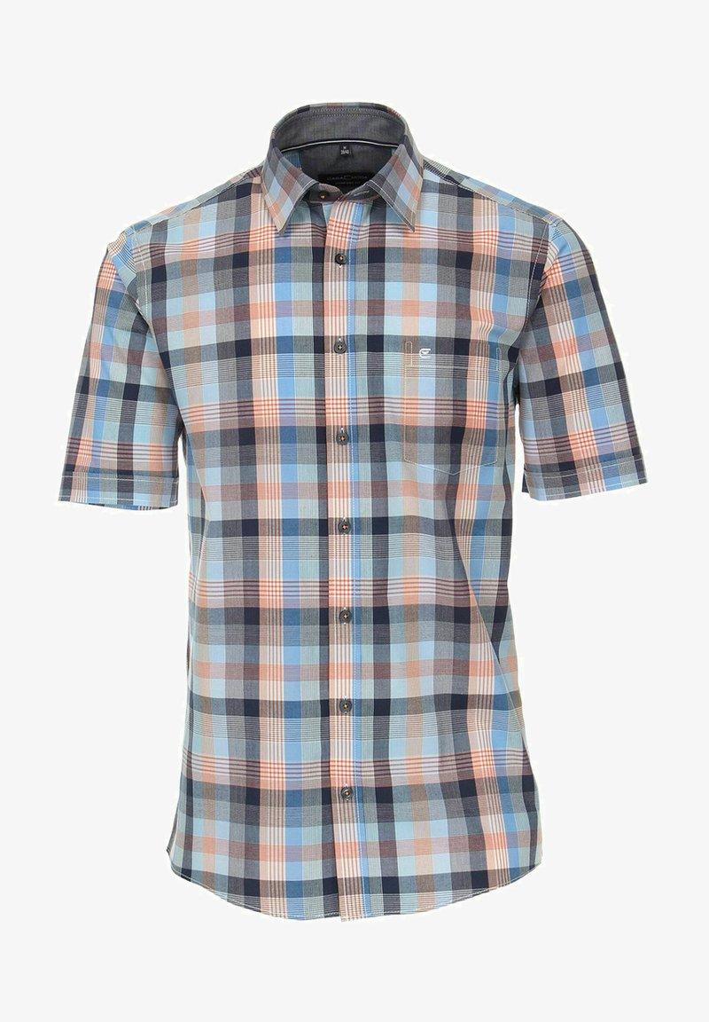 CASAMODA - COMFORT FIT  KURZARM  - Shirt - blau