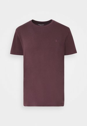 JJEWASHED TEE O NECK - Jednoduché triko - port royale
