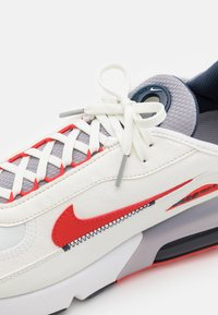 Nike Sportswear - AIR MAX 2090 - Trainers - summit white/chile red/cement grey/thunder blue/white - 5