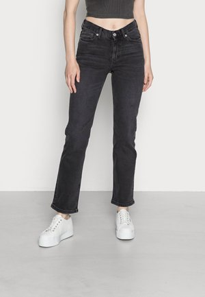 TWIG JEANS - Jeans straight leg - almost black