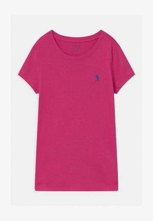 Basic T-shirt - college pink/boysenberry