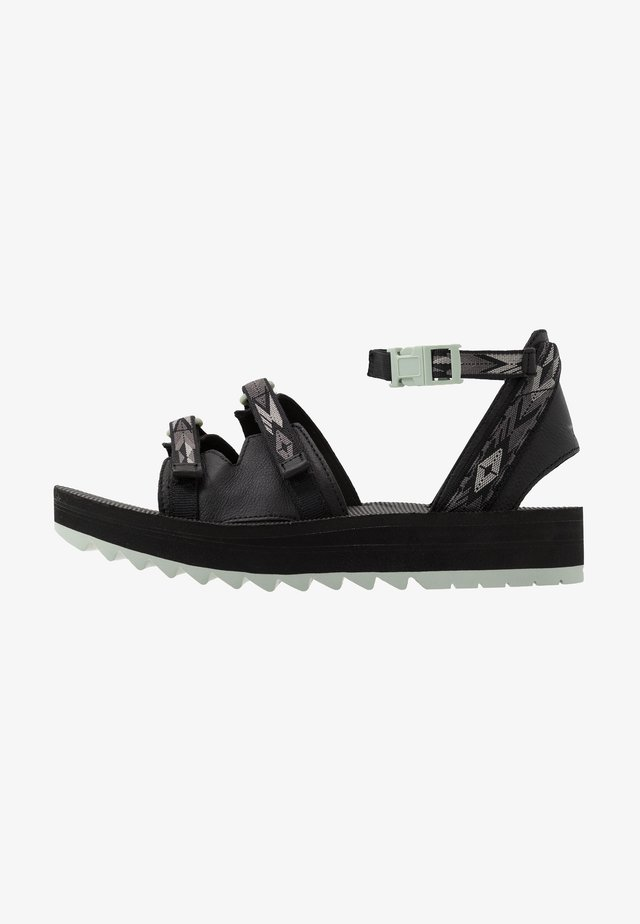 MIDFORM CERES WOMENS - Outdoorsandalen - double diamond black