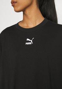 Puma - CLASSICS TEE DRESS - Vestito di maglina - black - 5