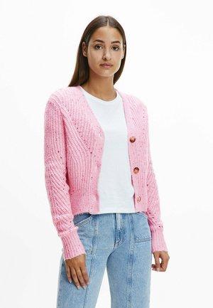 Cardigan - romantic pink  multi