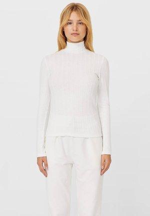 ROLLKRAGEN - Maglietta a manica lunga - white