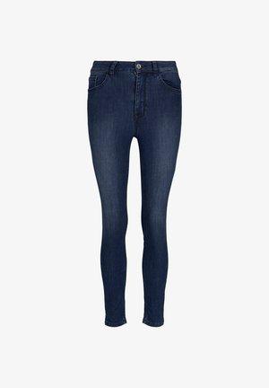 SEITENSCHLITZEN - Jeans Skinny Fit - blue denim