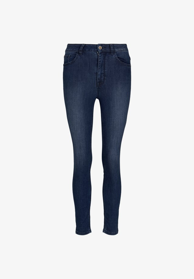 SEITENSCHLITZEN - Skinny džíny - blue denim