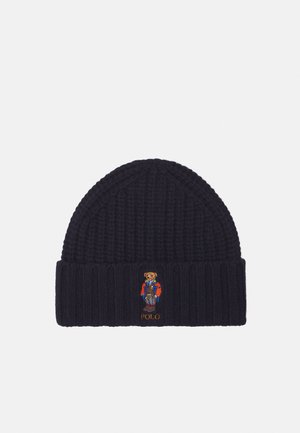 OUTDOOR BEAR HAT - Beanie - newport navy