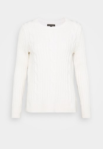 DOORBUSTER CREW CABLE - Jumper - ivory