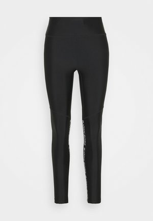HIGH WAIST - Leggings - black beauty