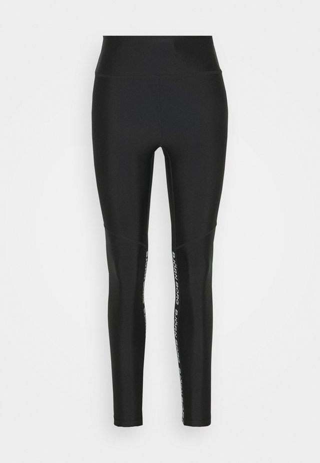 HIGH WAIST - Legging - black beauty